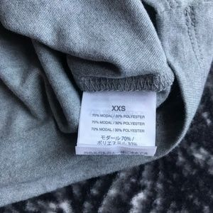 J. Crew Tops - J. Crew Grey Knotted Pocket Tee Shirt SIze XXS